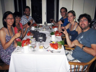 CSHL Regulatory and Non-coding RNAs 2012: Edlyn, Ahilya, Mathieu & conference friends