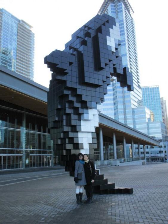 Keystone 2012 in Vancouver, BC: Edlyn and Ahilya