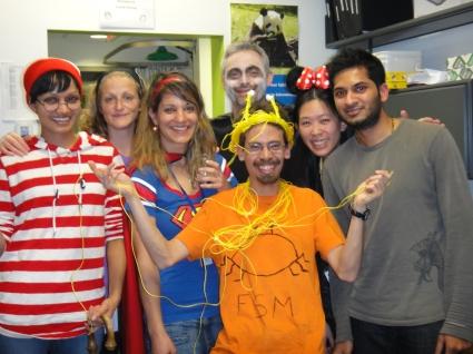 Happy Halloween from the Duchaine lab!