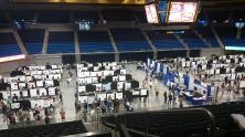 Poster session during the C. elegans Meeting 2015