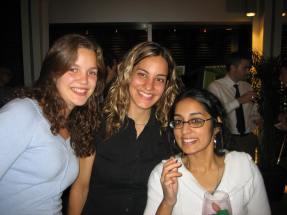 Life Sciences Complex Vernissage: Susan, Caro & Neetha
