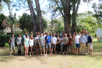 """""""20 years of microRNA Research Meeting"""" Barbados 2014. The fantastic group of participants."""
