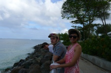 """""""20 years of microRNA Research Meeting"""" Barbados 2014. Ariel, Mathieu & Ahilya"""