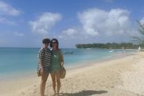 """20 years of microRNA Research Meeting"" Barbados 2014. Ahilya & Edlyn."