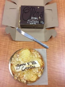Happy Birthday Vinay and Caroline!!
